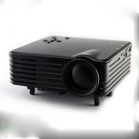 Wholesale Mini projector LED Projector LCD Lumen Full HD Beamer Protable Home Proyector HDMI SD USB RCA VGA Video TV