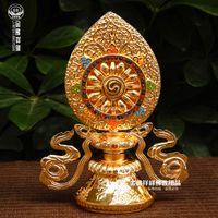 Wholesale Margin Cheung Yiwu Golden Buddha ribbon Falun treasure Tantric Buddhism supplies