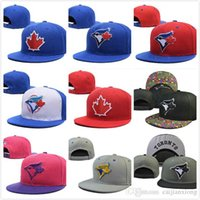 Wholesale Men s women full Closed Toronto Blue Jays fitted hat sport team casquette baseball cap styles Fast Shipping