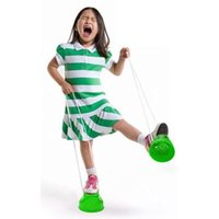 Wholesale 1 Pair Plastic Walk Stilt Jump Outdoor Fun Sports Balance Training kids Toy New WF US
