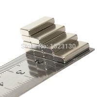 Wholesale 10pcs Strong Block Cuboid Magnets mm x mm x mm Rare Earth Neodymium N50 order lt no track