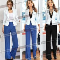 Cheap 2014 Women Pleated Business Casual Office Career Wear To Work Formal Palazzo Pants Trousers Size S M L 936