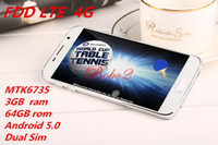 Wholesale 4G LTE S6 G920F Bit Quad Core MTK6735 GB GB inch Android MP cell phone