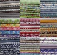 Wholesale 92pcs different patterns patchwork group cotton fabric Flower DIY material quilt quilting kids