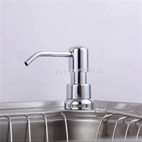 Wholesale 2014 New High Quality Bathroom Accessories Easy Soap Dispenser Plastic Bottle Prctical Liquid Soap Dispensers