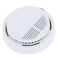 Detector de humo Alarma de incendio Sistema de <b>sensor</b> de alarma independiente detectores sin hilos de la seguridad casera de alta sensibilidad estable 85DB LED