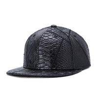 Wholesale New Black Fashion trend Men s Snapback adjustable Baseball Cap Hip Hop hat