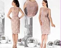 black pants - 2015 Pink Cap Sleeve Short Beaded Lace Of Mother Of The Bride Dresses Pant Suits Knee Length Cheap Custom Made