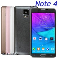 Wholesale Quad Core Note4 I9100 Cell Phone MTK6582 G RAM G ROM Android G GPS With Inch IPS Screen MP Camera
