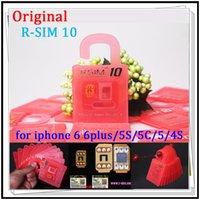Wholesale R SIM RSIM10 R SIM10 Perfect SIM Card Unlock Official IOS x x Original RSIM for iphone plus I6 S C S GSM CDMA WCDMA G G