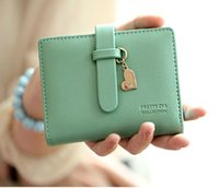 basic money - Fashion Women s Synthetic PU Leather Clutch Basic Coin Case Money Clip Hand Bags Handbag Wallet Strap Open Zipper Solid Purse