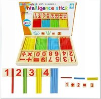 Wholesale Wooden Montessori Toys Teach Beginners The Mathematical Race Association Wooden Learning Figures Toys Baby Education Toys