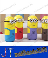 Wholesale Hot Sell Creative cartoon Minions Stainless Steel stainless steel vacuum stainless steel thermos cup thermos flask ML MYY14240