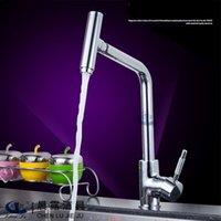 bath faucet parts - New bi directional rotation Full copper faucet Kitchen tap faucet torneira cozinha grifos cocina points bath parts