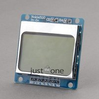 arduino blue - New x48 Pixel Blue Backlight LCD Module Adapter PCB For Nokia For Arduino