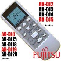 Wholesale Fujitsu Air Conditioner Remote Control AR DJ2 AR DJ5 AR DJ8 AR DJ19 AR DJ3 AR DJ4 AR DJ15 AR DJ18 AR DJ20 Air Conditioning Parts