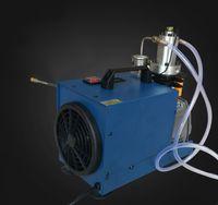 300bar venda quente pequena bomba de ar bomba de pcp portátil de alta pressão do compressor de ar 4500psi para o tanque de 0.5L