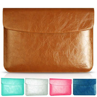 Wholesale High end PU leather laptop case bag for notebook bag for macbook leather liner sleeve quot Macbook quot pro13 quot inch quot