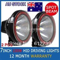big hid beam - PAIR W quot HID XENON DRIVING LIGHTS INCH SPOTLIGHTS OFF ROAD Lights X4 V Big Power Spot Beam