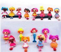 Wholesale New Korea MGA Mini Lalaloopsy Doll cm Bulk Button Eyes Toys For girls