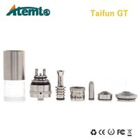 Replaceable SS Metal Atemto Taifun GT vaporizer mod mechanical electronic cigarette 510 thread high quality clong rebuildable China factory directly selling manufacture