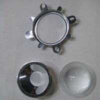 Wholesale W led Glass Lens with Reflector Collimator degree mm optical lens for cob light