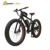 Wholesale Passion ebike V W electric fat bike V Lithium Battery E bicycle quot X4 Off road Electric bicycle