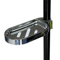 Wholesale Plastic Shower Soap Box Holder Pallet Rod Sliding ABS Chrome for mm Sliding Bar order lt no track