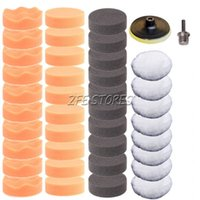 Wholesale 40pcs mm High Gross Polishing Buffer Pad Woolen Pad For Car Polisher quot