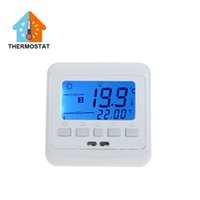 Wholesale 16A Room Floor Heating Electronic Thermostat with LED light Floor Heating Manual Thermostat Termostato Temperature Controller