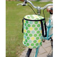 bicycle shopping basket - Folding oxford fabric waterproof bicycle basket multi purpose car basket shopping bag