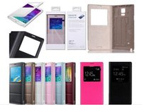 Cheap samsung case for note 4 Best Flip Leather case for note 4
