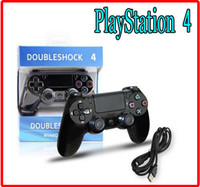 Wholesale NEW PS4 PlayStation Bluetooth Wireless USB Wired Game Controller Gamepad Joystick Dualshock PS USB Cable game Accessories
