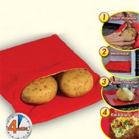 Wholesale Potato Baked Bag Microwave Potato Fast Cooking Washable Cooker