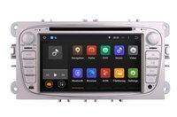 audio video player - Android Car DVD Player GPS Navigation for Ford Focus Mondeo S Max with Radio BT USB AUX Audio Video Stereo Core