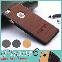 wooden case - For iPhone Traveler Wooden Cover Cases Pear Wood Macassar Ebony Indian Rosewood Birch Imitation Wood Grain PC Plastic