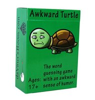 Wholesale 100pcs Awkward Turtle The Adult Party Game with a Crude Sense of Humor by da Vinci s Room