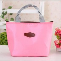 Wholesale Thermal Insulated Portable Cooler Waterproof Lunch Picnic Tote Storage Carry Bag L09421