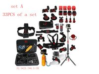 accessory bundle kit - DHL free GoPro Accessories Outdoor Sports Bundle Kit for GoPro Hero Cameras and Other sports DV sj4000 sj5000