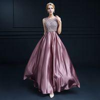 Wholesale Burgundy Sexy Prom Dresse New Fashion Double shoulder Long Lace Pink Formal Evening Dresses Custom Plus Size Bridal Marrige Sweet Dress