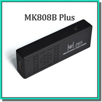 Wholesale MK808B Plus Amlogic M805 Quad Core Android TV box Mini TV Dongle G RAM G ROM H Hardware Decode Bluetooth DLNA with factroy price