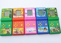 Wholesale Christmas Gifts Nostalgic Version of the Classic Consoles Tetris Handheld Game Consoles Variety of Multiple Colors Random