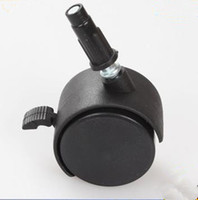 Wholesale 2 inch inserted link in universal wheel retail furniture wheel
