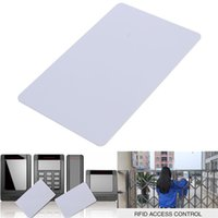 Wholesale High quality Readable KHz RFID Proximity ID Card Tag For Door Access control system White order lt no track