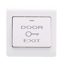 access mounting - Wall Mount Door Exit Push Release Button Switch for Entry Access Control S565
