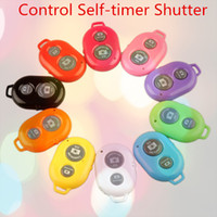 Wholesale Bluetooth Remote Camera Control Self timer Shutter for iPhone5C S for Galaxy S4 Note3 Smartphones and Tablet