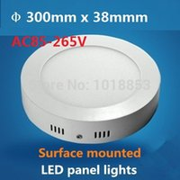 Wholesale Dimmable Surface Mounted W LED Panel Light With Super Bright SMD2835 AC85 V Modern LED Ceiling Lights