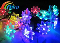 led light cup - LED light Bulb V mA Solar String Light For Christmas Outdoor Indoor Holiday Lighting freeship