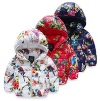 ab candy - Cartoon new girls fashion coat candy colors years hooded baby winter down jacket white duck down children warm coats AB