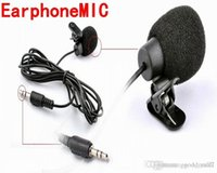 Wholesale 2015 Newest Multimedia Earphonemic System Microphone Hands free Collar Clip For Laptop Phone PC XTY